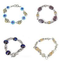 Lampwork Stainless Steel Bracelets