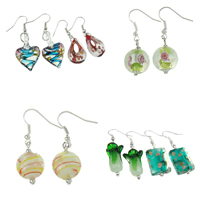 Lampwork Drop Earring