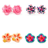 Polymer Clay Stud Earring
