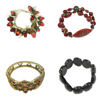 Acrylic Iron Bracelets