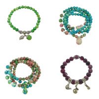 Rain Flower Stone Bracelets