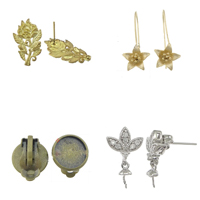 Brass Earring Findings