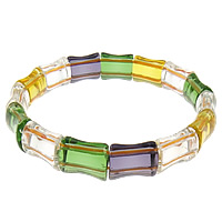 Crystal Bracelets, 13x11x7mm, Length:7.5 Inch, 14PCs/Strand, Sold By Strand