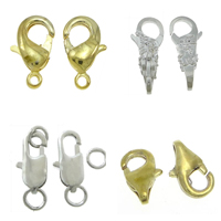 Brass Lobster Claw Clasp
