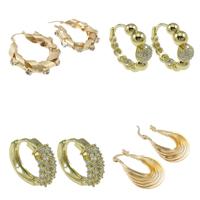 Brass Hoop Earring