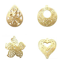 Brass Stamping Pendants