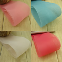 Chiffon Ribbon, more colors for choice, 58mm, Sold By m