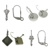 Stainless Steel Lever Back Earring Component