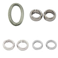 Soldered Stainless Steel Jump Ring