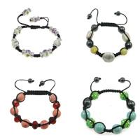 Porcelain Woven Ball Bracelets