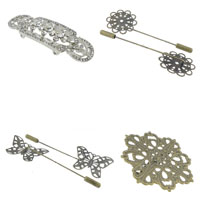 Iron Brooch Findings