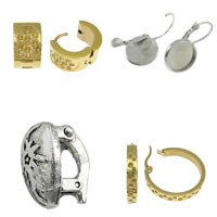 Zinc Alloy Lever Back Earring Component