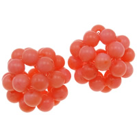 Natural Coral Beads, Round, more colors for choice, 4-5mm, Sold By PC