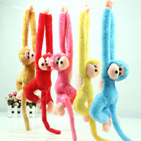 Plush Monkey, mixed colors, 580mm, 50PCs/Lot, Sold By Lot