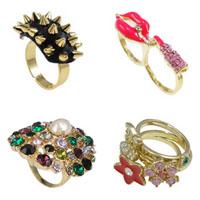 Zinc Alloy Finger Ring Jewelry