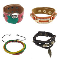 Real Leather Cord Bracelets