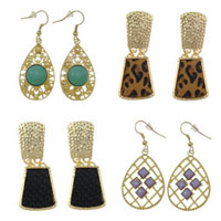 Zinc Alloy Drop Earring