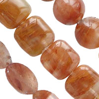 Natural Ruby Quartz Beads