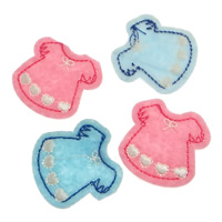 Cloth Iron-on Patches, Garment, more colors for choice, 35x35mm, Sold By PC