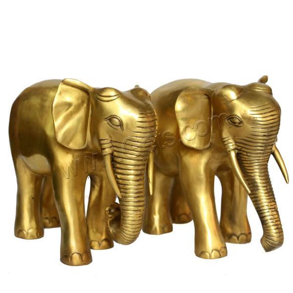 Adornos de feng shui metal elefante chapado en color for Elefantes decoracion feng shui