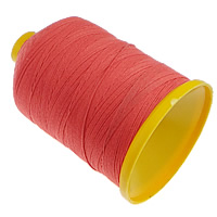 Sewing Thread, Cotton, red, 0.8mm, Sold By PC