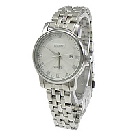 Women Wrist Watch, Stainless Steel, with Glass, original color, 35x33mm, 12mm , Length:Approx 12 Inch, Sold By PC