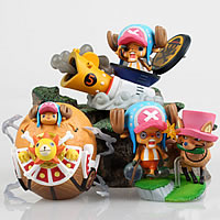 Figure Model Toys, PVC plastic, mixed, approx 60mm, 3PCs/Set, Sold By Set