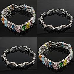 Cubic Zirconia Jewelry Bracelets