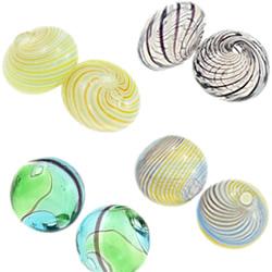 Blown Lampwork Beads