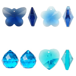 Imitation CRYSTALLIZED™ Crystal Pendants