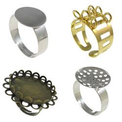 Iron Finger Ring Settings