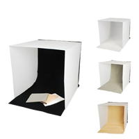 Mini Photo Studio, Lylon, with Iron, Square, attached with four backdrops, 400x400mm, Sold By PC