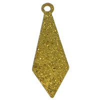 Stardust Brass Pendants, plated, more colors for choice, nickel, lead & cadmium free, 8x23x0.5mm, Hole:Approx 1mm, Sold By PC