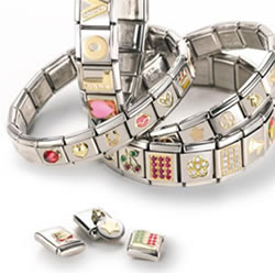 Stainless Steel Italian Charm Link