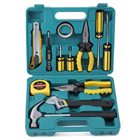 Plastic Auto Repair Tool Kit, with Stainless Steel, Rectangle, 280x215x60mm, Sold By Set