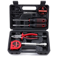 Plastic Home Repairing Tool Set, with Stainless Steel, 250x160x65mm, Sold By Set