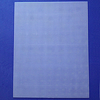 Plastic DIY Mesh Sheet, different size for choice, Sold By PC