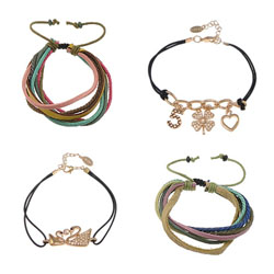 Fashion Create Wax Cord Bracelets