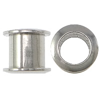 Stainless Steel Grommet, 303 Stainless Steel, Column, plated, more colors for choice, 8x7x8mm, Hole:Approx 5mm, Sold By PC