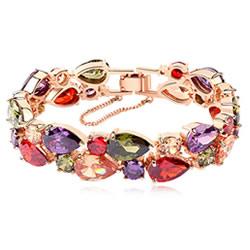 Cubic Zirconia Brass Bracelets