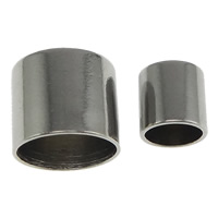 Stainless Steel End Caps, 304 Stainless Steel, Column, machine polishing & different size for choice, original color, Sold By PC