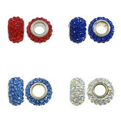 Rhinestone European Beads