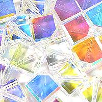 CRYSTALLIZED™ 5600 Crystal Cube Diagonal Hole Bead