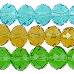 Imitation CRYSTALLIZED™ 5040 Rondelle Beads