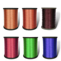 Brass Wire, plated, more colors for choice, cadmium free, Length:Approx 2000 m, Sold By KG