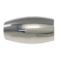 Stainless Steel Magnetic Clasp, Tube, plated, more colors for choice, 14x8mm, Hole:Approx 4mm, Sold By PC