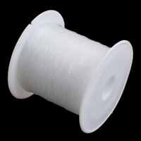 Crystal Thread, with plastic spool, without elastic, different size for choice, white, Sold By PC
