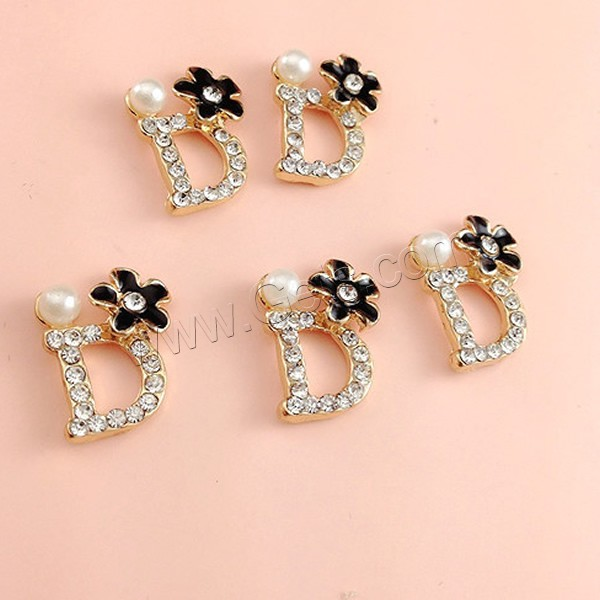 Mobile phone diy decoration zinc alloy with resin pearl for Decoration zinc