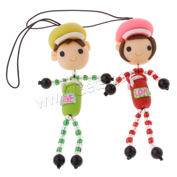 how to make clay polymer beads lanyard