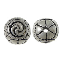 Stainless Steel Beads, Round, blacken, 15mm, Hole:Approx 3mm, Sold By PC